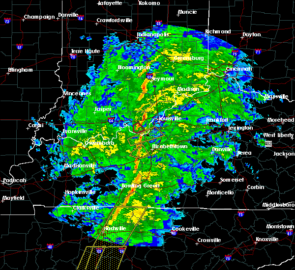 Radar Image for Severe Thunderstorms near Utica, KY at 12/31/2018 3:41 PM EST