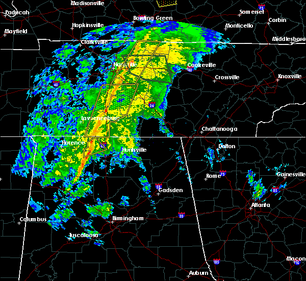 Radar Image for Severe Thunderstorms near Athens, AL at 12/31/2018 2:56 PM CST