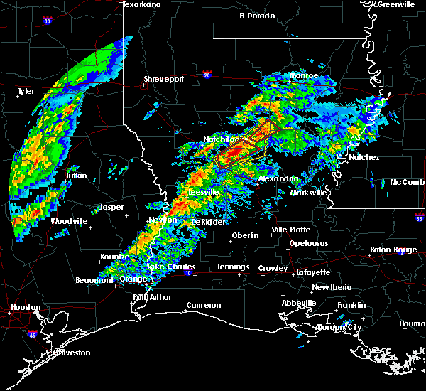 Radar Image for Severe Thunderstorms near Montgomery, LA at 1/19/2019 1:04 AM CST