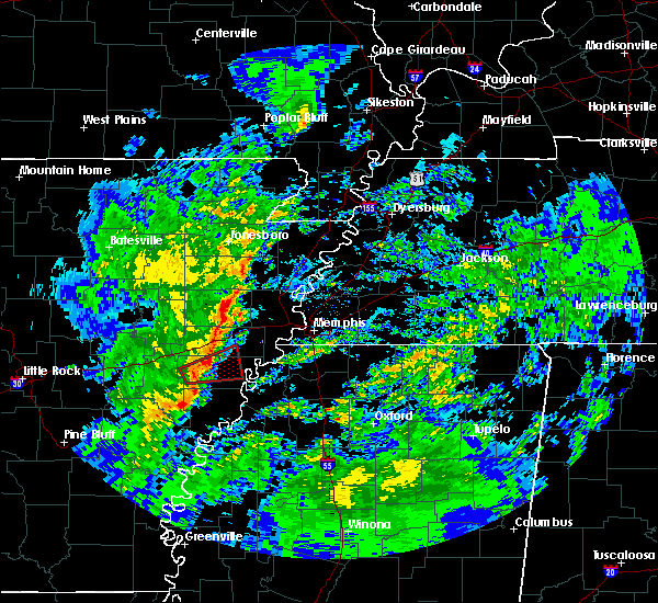 Radar Image for Severe Thunderstorms near Moro, AR at 1/19/2019 4:41 AM CST