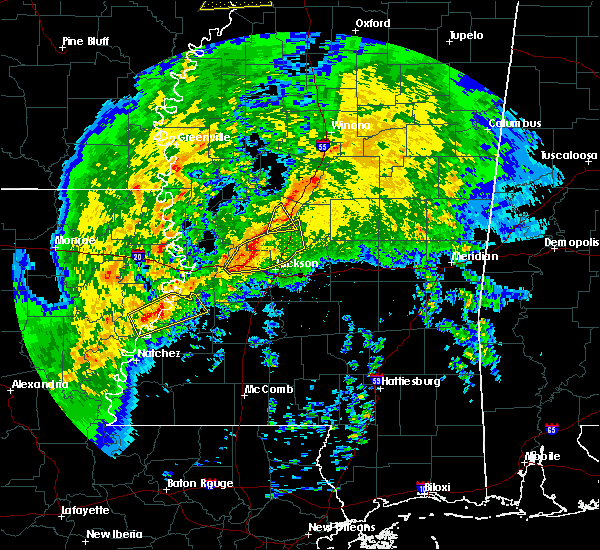 Radar Image for Severe Thunderstorms near Ridgeland, MS at 1/19/2019 5:30 AM CST