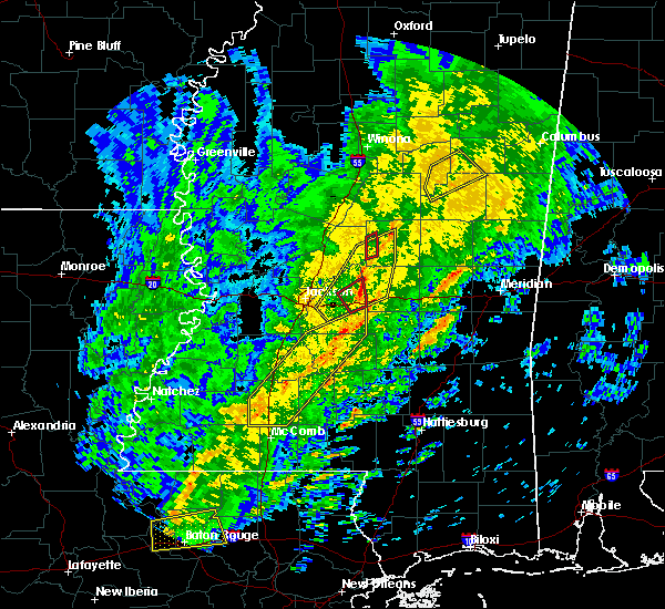 Radar Image for Severe Thunderstorms near Polkville, MS at 1/19/2019 8:02 AM CST