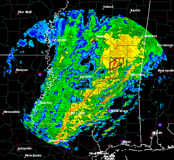 Radar Image for Severe Thunderstorms near Pearl River, MS at 1/19/2019 8:47 AM CST