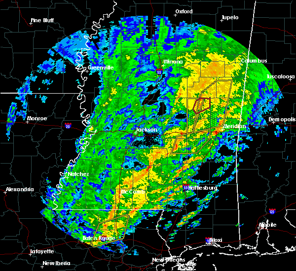 Radar Image for Severe Thunderstorms near Pearl River, MS at 1/19/2019 8:50 AM CST
