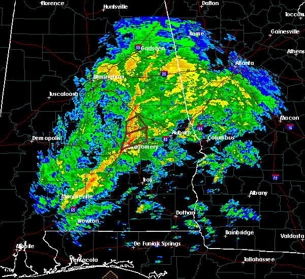 Radar Image for Severe Thunderstorms near Hissop, AL at 1/19/2019 3:02 PM CST