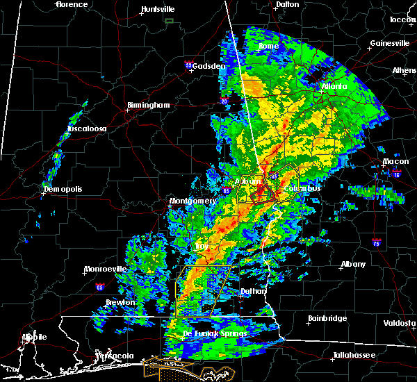 Radar Image for Severe Thunderstorms near Ladonia, AL at 1/19/2019 5:00 PM CST
