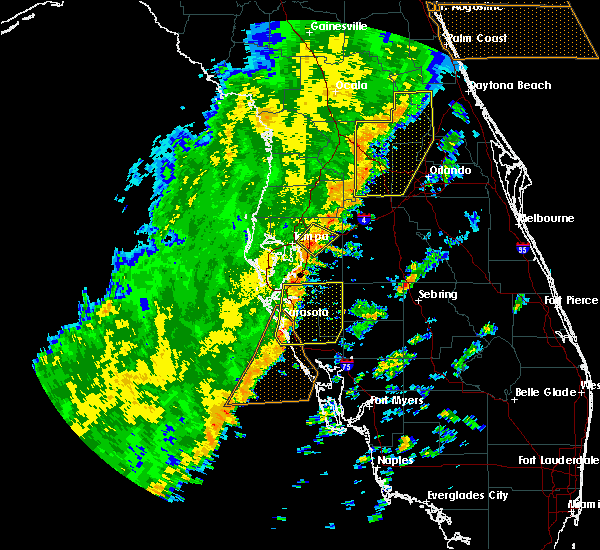Radar Image for Severe Thunderstorms near Tampa, FL at 1/24/2019 5:49 AM EST
