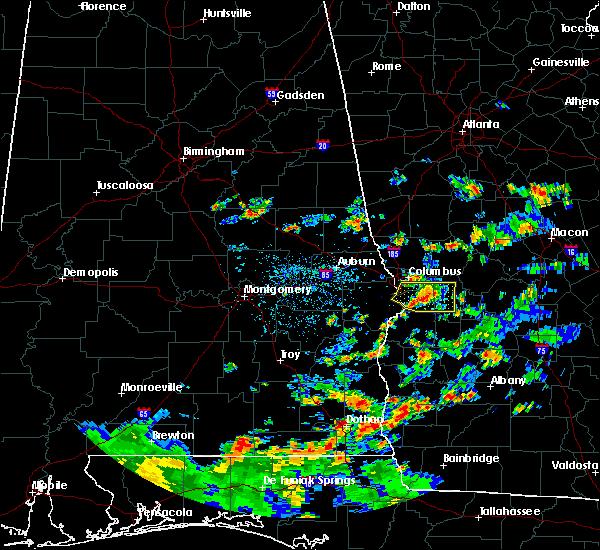 Radar Image for Severe Thunderstorms near Columbus, GA at 6/9/2015 1:46 PM EDT