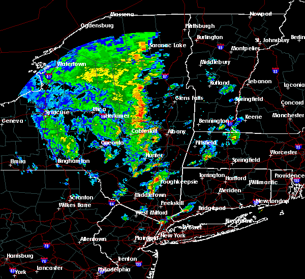Radar Image for Severe Thunderstorms near Gloversville, NY at 6/9/2015 2:18 PM EDT