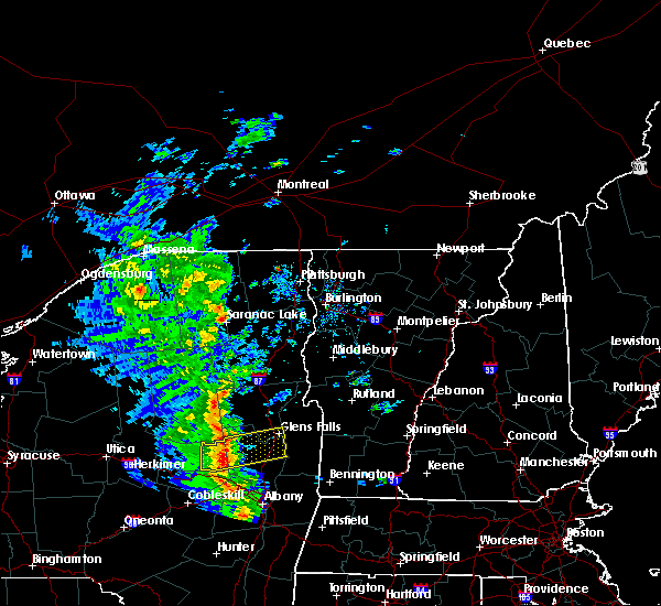 Radar Image for Severe Thunderstorms near Paul Smiths, NY at 6/9/2015 2:30 PM EDT