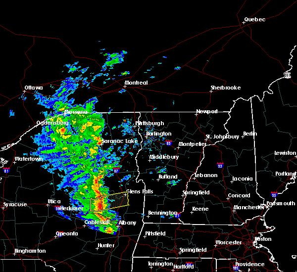 Radar Image for Severe Thunderstorms near Shelburne, VT at 6/9/2015 2:30 PM EDT