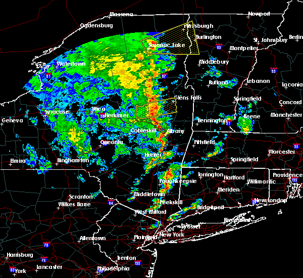 Radar Image for Severe Thunderstorms near Rotterdam, NY at 6/9/2015 2:44 PM EDT