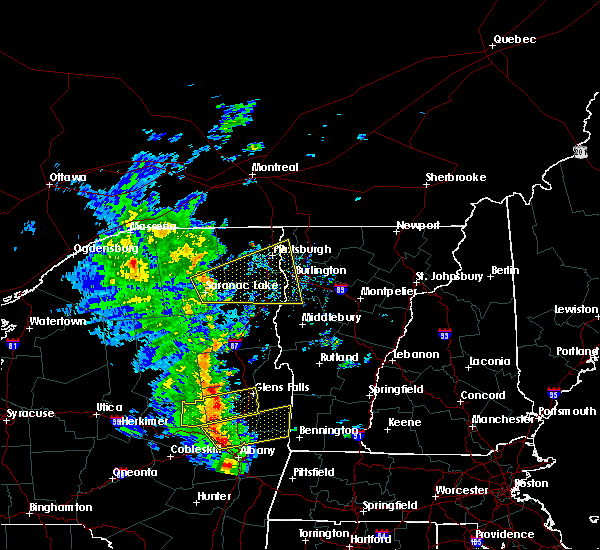 Radar Image for Severe Thunderstorms near Wilmington, NY at 6/9/2015 2:46 PM EDT