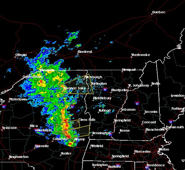 Radar Image for Severe Thunderstorms near Shelburne, VT at 6/9/2015 2:46 PM EDT