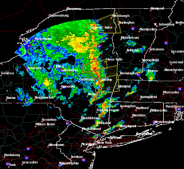 Radar Image for Severe Thunderstorms near Cohoes, NY at 6/9/2015 2:53 PM EDT