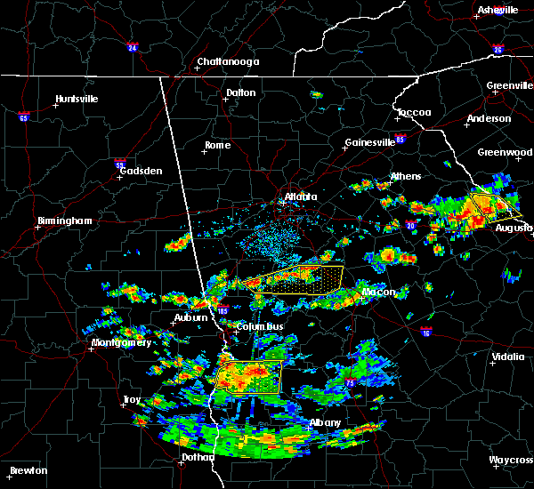 Radar Image for Severe Thunderstorms near Meansville, GA at 6/9/2015 2:55 PM EDT