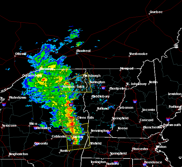 Radar Image for Severe Thunderstorms near Wilmington, NY at 6/9/2015 3:01 PM EDT
