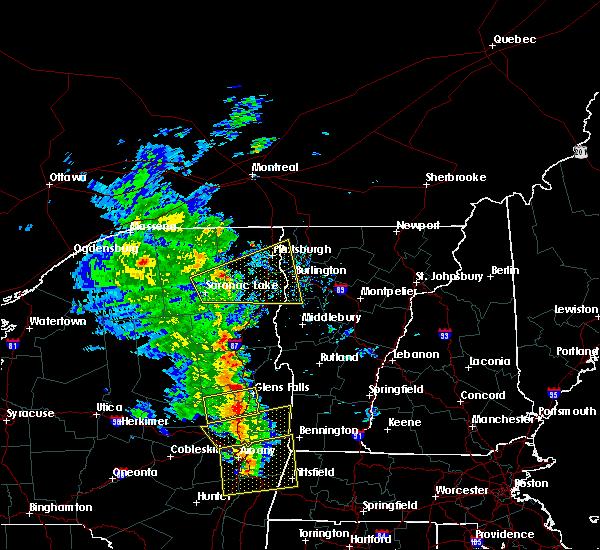 Radar Image for Severe Thunderstorms near Shelburne, VT at 6/9/2015 3:01 PM EDT