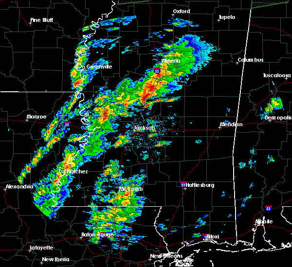 Radar Image for Severe Thunderstorms near Satartia, MS at 2/23/2019 3:05 PM CST
