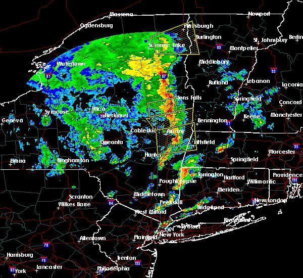 Radar Image for Severe Thunderstorms near Salem, NY at 6/9/2015 3:12 PM EDT