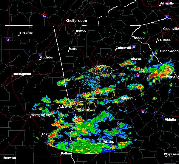 Radar Image for Severe Thunderstorms near Shiloh, GA at 6/9/2015 3:16 PM EDT