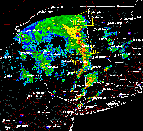 Radar Image for Severe Thunderstorms near Canaan, CT at 6/9/2015 3:22 PM EDT