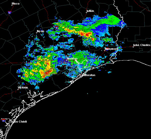Radar Image for Severe Thunderstorms near Rosenberg, TX at 2/26/2019 5:23 PM CST