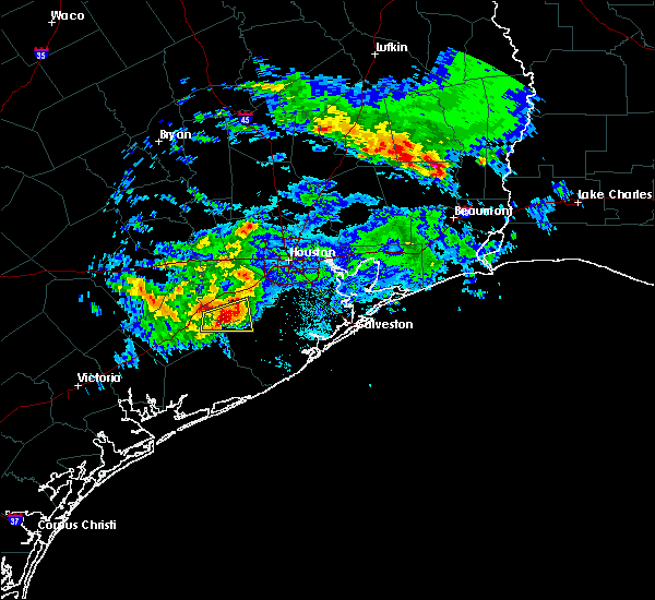 Radar Image for Severe Thunderstorms near Needville, TX at 2/26/2019 5:47 PM CST
