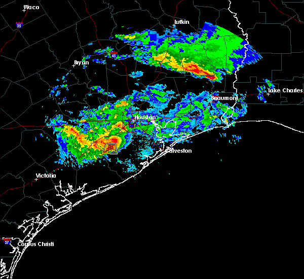 Radar Image for Severe Thunderstorms near Needville, TX at 2/26/2019 6:00 PM CST