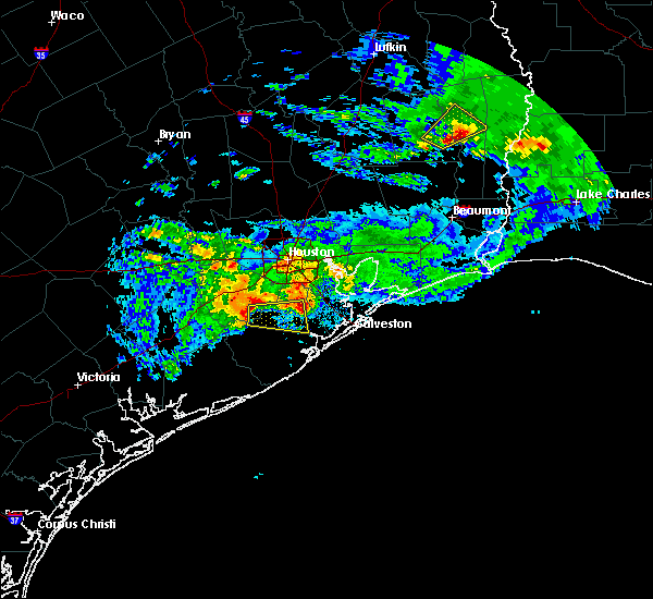 Radar Image for Severe Thunderstorms near Pasadena, TX at 2/26/2019 7:09 PM CST