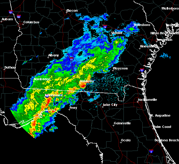 Radar Image for Severe Thunderstorms near Madison, FL at 3/1/2019 12:30 PM EST