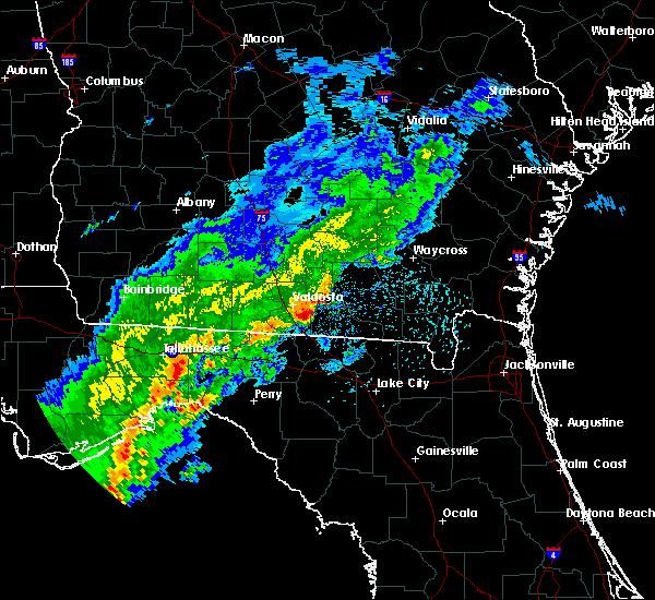 Radar Image for Severe Thunderstorms near Madison, FL at 3/1/2019 12:48 PM EST