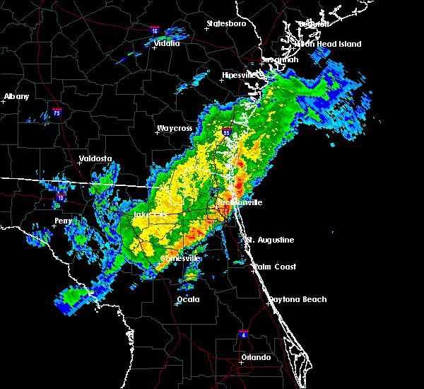 Radar Image for Severe Thunderstorms near Jacksonville, FL at 3/1/2019 3:19 PM EST