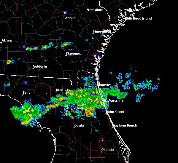 Radar Image for Severe Thunderstorms near Pomona Park, FL at 3/2/2019 4:08 PM EST