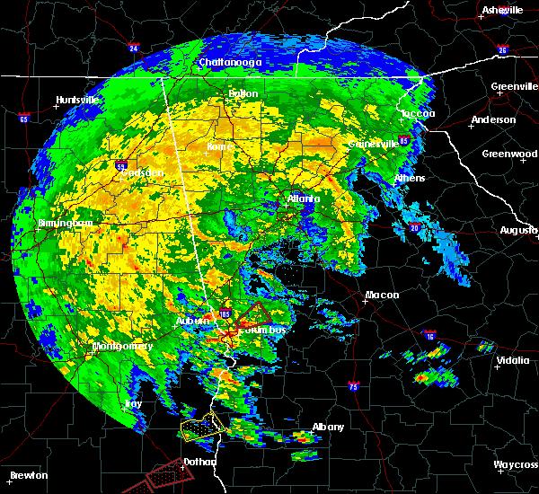 Radar Image for Severe Thunderstorms near Shiloh, GA at 3/3/2019 1:51 PM EST
