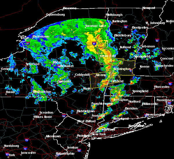 Radar Image for Severe Thunderstorms near Chatham, NY at 6/9/2015 3:42 PM EDT