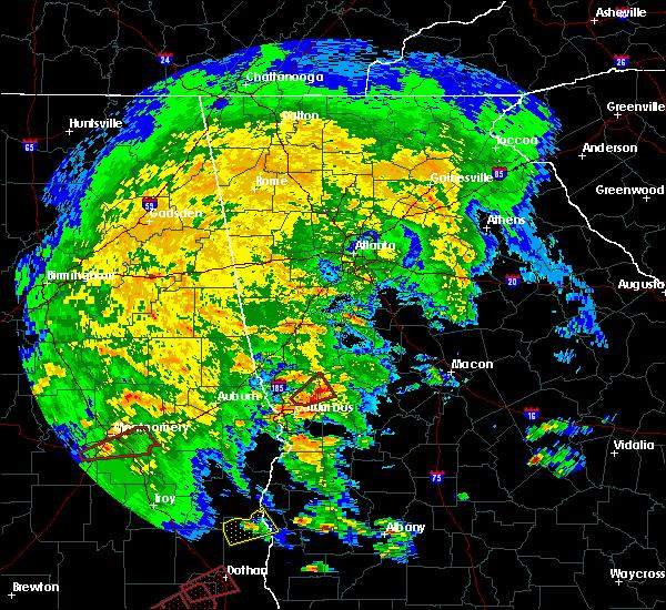 Radar Image for Severe Thunderstorms near Columbus, GA at 3/3/2019 2:03 PM EST