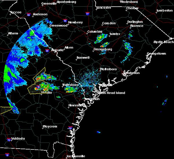 Radar Image for Severe Thunderstorms near Pulaski, GA at 3/3/2019 3:05 PM EST