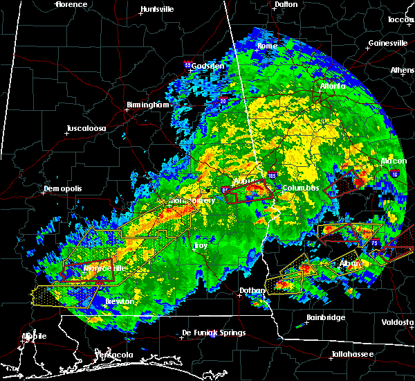 Radar Image for Severe Thunderstorms near Pike Road, AL at 3/3/2019 2:15 PM CST