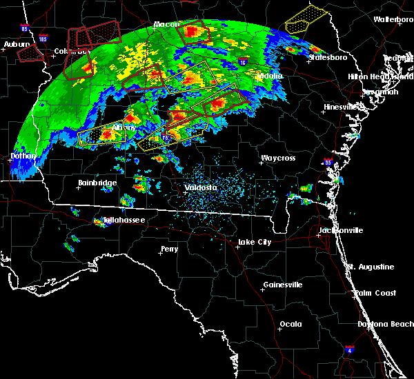 Radar Image for Severe Thunderstorms near Putney, GA at 3/3/2019 4:10 PM EST