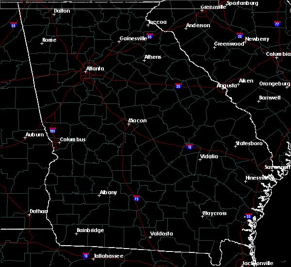 Radar Image for Severe Thunderstorms near Rochelle, GA at 3/3/2019 4:51 PM EST