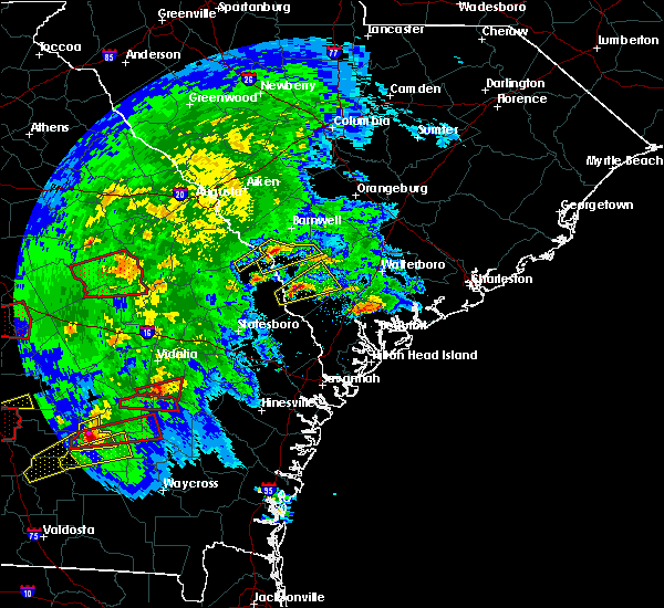 Radar Image for Severe Thunderstorms near Girard, GA at 3/3/2019 4:55 PM EST