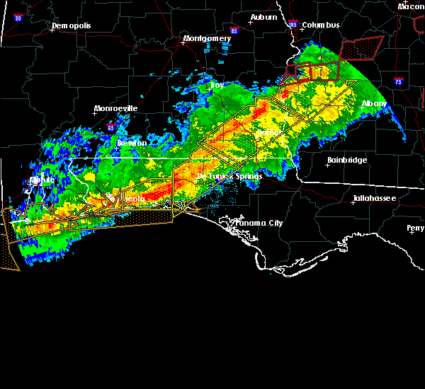 Radar Image for Severe Thunderstorms near Ponce de Leon, FL at 3/3/2019 4:27 PM CST