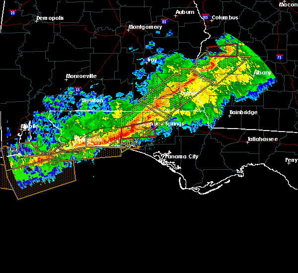 Radar Image for Severe Thunderstorms near Ponce de Leon, FL at 3/3/2019 4:39 PM CST