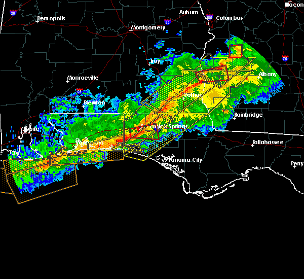 Radar Image for Severe Thunderstorms near Midway, FL at 3/3/2019 4:43 PM CST