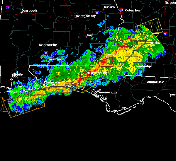 Radar Image for Severe Thunderstorms near Destin, FL at 3/3/2019 4:59 PM CST