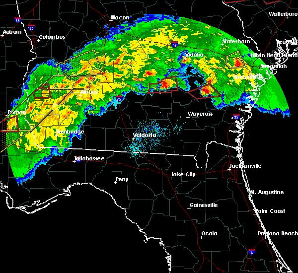Radar Image for Severe Thunderstorms near Denton, GA at 3/3/2019 6:11 PM EST