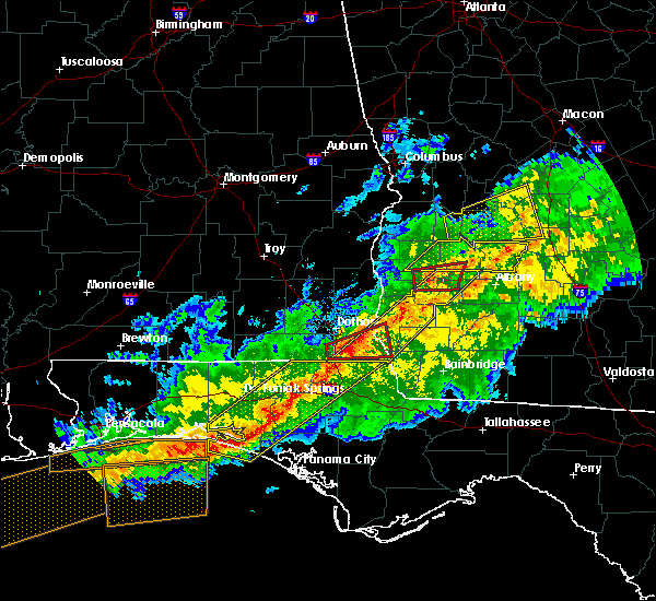 Radar Image for Severe Thunderstorms near Madrid, AL at 3/3/2019 6:21 PM EST