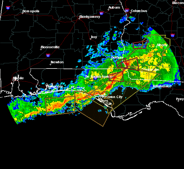 Radar Image for Severe Thunderstorms near Panama City, FL at 3/3/2019 5:48 PM CST
