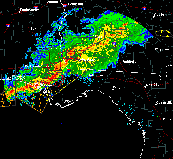 Radar Image for Severe Thunderstorms near Colquitt, GA at 3/3/2019 6:58 PM EST